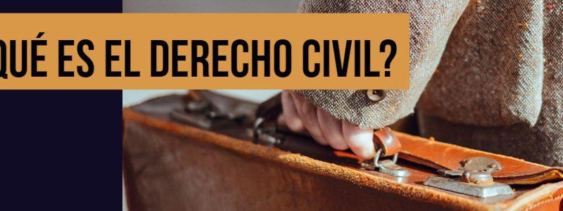 que es derecho civil