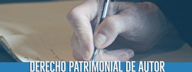 Derecho Patrimonial de autor